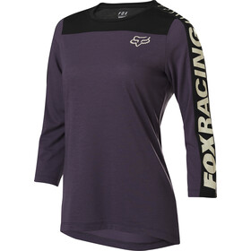 Fox Ranger Dri-Release 3/4 Jersey Dames, dark purple